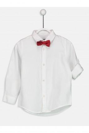 قميص اطفال ولادي مع بيبونة
