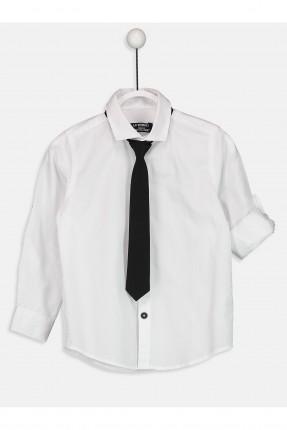 قميص اطفال ولادي مع كرافة
