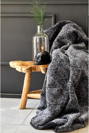 بطانية مزدوجة - اسود