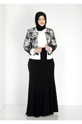 طقم نسائي رسمي فستان + جاكيت قصير