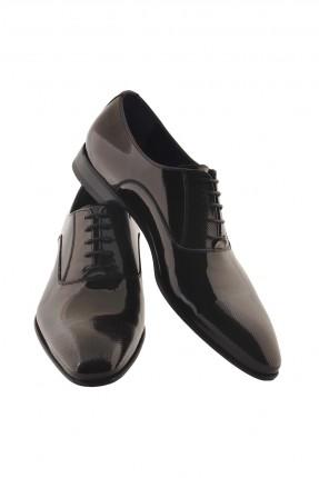 حذاء رجالي جلد ذو لمعة