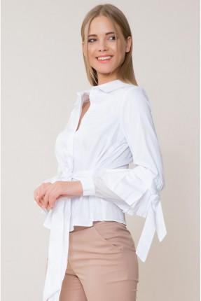 قميص نسائي سبور مع حزام ربط