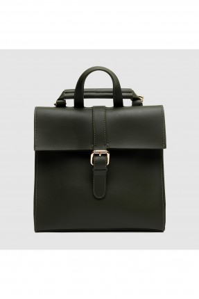 حقيبة ظهر نسائية مع حزام