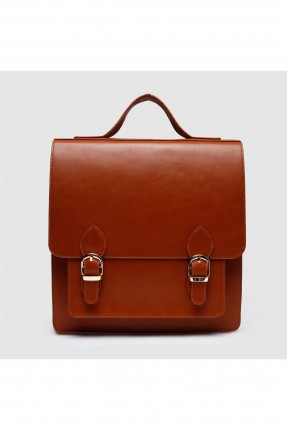 حقيبة ظهر نسائية مع حزام شيك