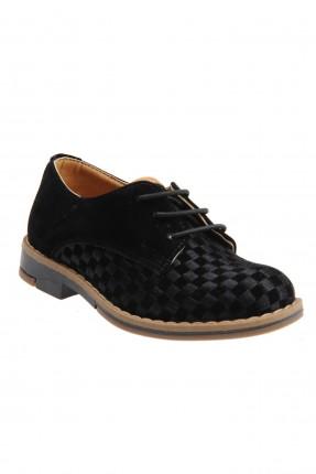 حذاء اطفال ولادي رسمي - اسود