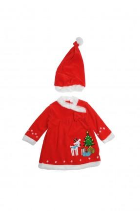 فستان بيبي بناتي بابا نويل