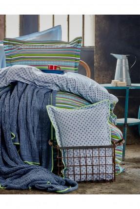 طقم غطاء سرير فردي مع بطانية