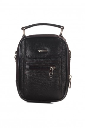 حقيبة يد جلد رجالية سبور