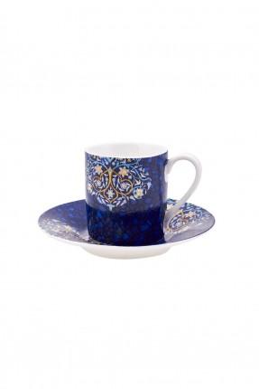 طقم فنجان قهوة مزخرف /4 اشخاص/