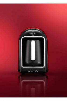 ماكينة قهوة كهربائية - احمر