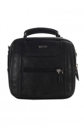 حقيبة يد جلد رجالية