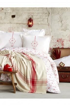 طقم غطاء سرير فردي رسومات جاكار