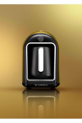 ماكينة قهوة كهربائية - اصفر