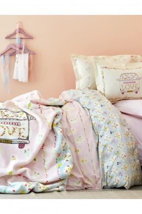 بطانية سرير اطفال مفردة مع رسومات