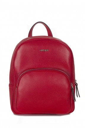 حقيبة ظهر نسائية جلد - خمري