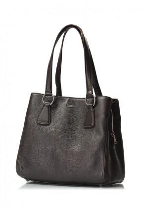 حقيبة يد نسائية جلد رسمية - اسود