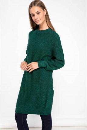 كنزة نسائية طويلة - اخضر