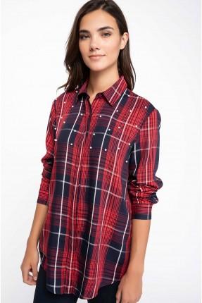 قميص نسائي سبور كاروهات