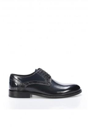 حذاء رجالي شيك برباط ذو لمعة