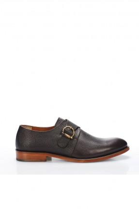 حذاء رجالي شيك لحزام - بني