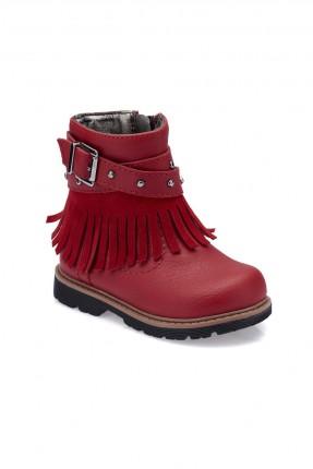 حذاء بيبي بناتي Polaris - احمر