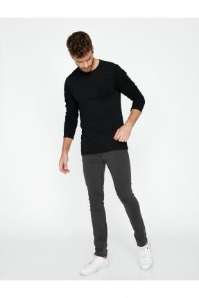 بنطال جينز رجالي سبور - زيتي