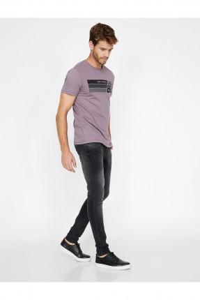 بنطال جينز رجالي سبور - اسود