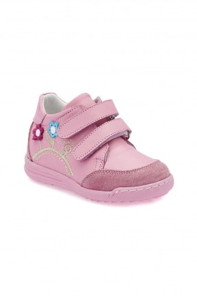 حذاء بيبي بناتي جلد Polaris - وردي