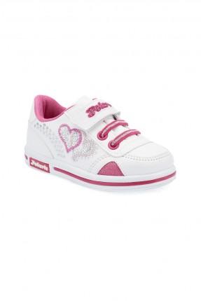 حذاء بيبي بناتي Polaris - ابيض