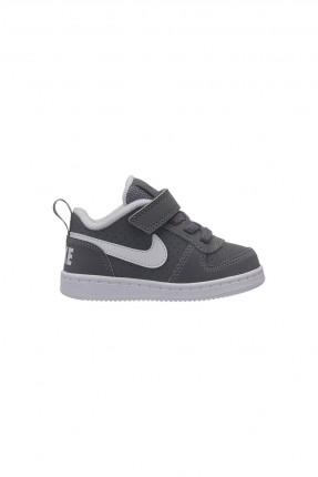حذاء بيبي ولادي Nike - رمادي