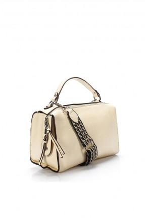 حقيبة يد نسائية شيك - بيج