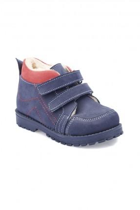 حذاء بيبي ولادي جلد Polaris - كحلي