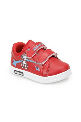 حذاء بيبي ولادي Polaris - احمر