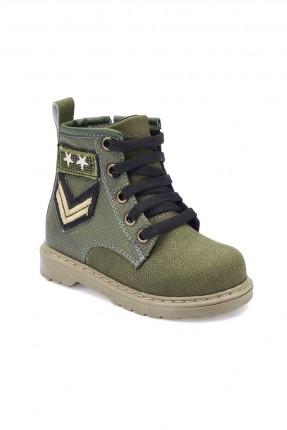 حذاء بيبي ولادي Polaris - زيتي