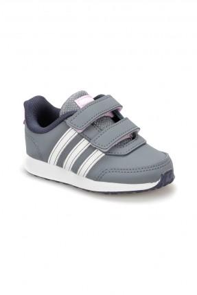 حذاء بيبي ولادي Adidas - رمادي