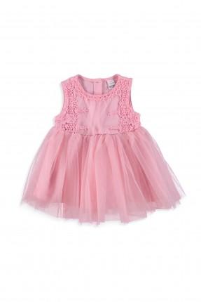 فستان بيبي بناتي مع كشكش