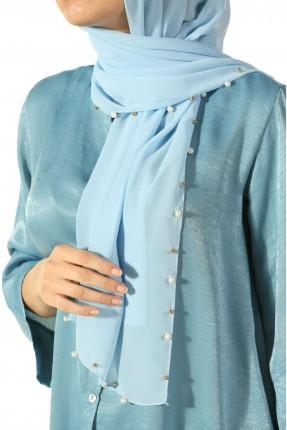 حجاب تركي مزين الاطراف