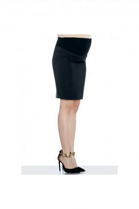 تنورة قصيرة للحمل - اسود