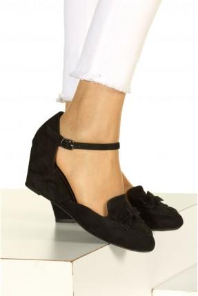 حذاء نسائي كب روكي - اسود
