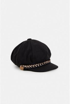 قبعة نسائية مزينة سلسال
