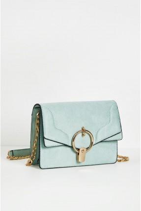 حقيبة يد نسائية مع سلسال