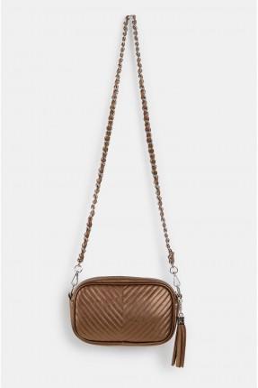 حقيبة يد نسائية مزينة شراشيب