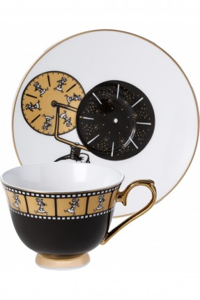 طقم فنجان قهوة /2 شخص/ برسمات