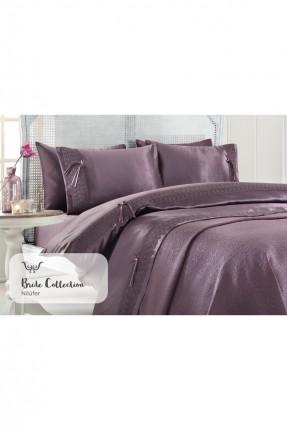 طقم غطاء سرير مزدوج - موف