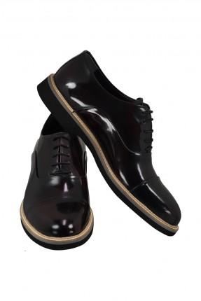 حذاء رجالي جلد شيك