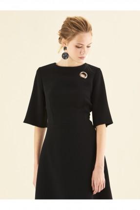 فستان رسمي قصير - اسود