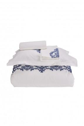 طقم غطاء سرير مزدوج مع نقشة