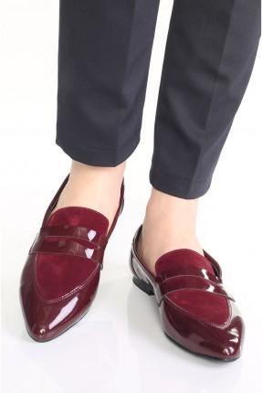 حذاء نسائي شيك - خمري