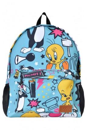 حقيبة اطفال مدرسية رسمة تويتي