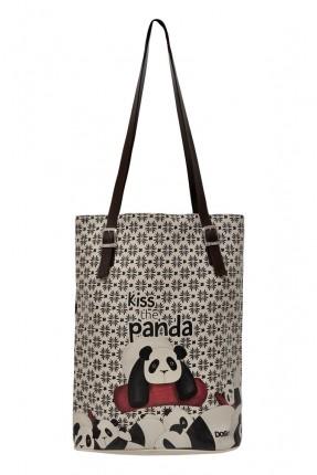 حقيبة يد نسائية رسمة باندا